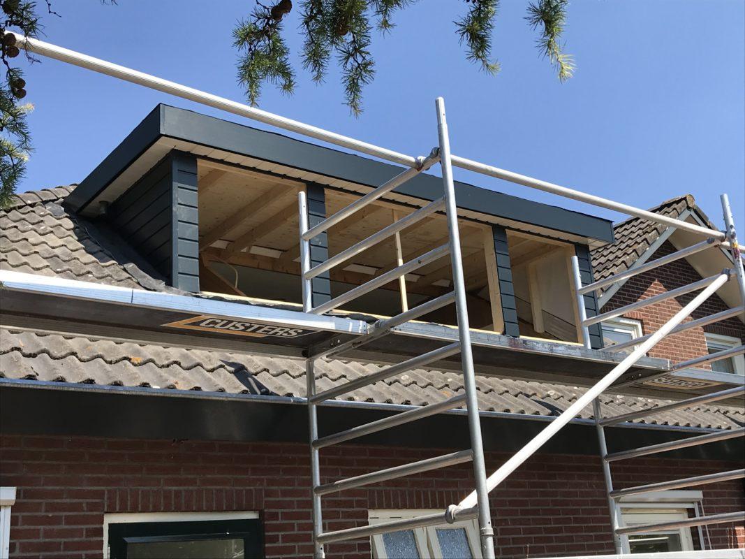 Bouw dakkapel C. van de Kamp Totaalbouw